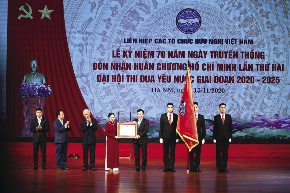 The Vietnam Union of Friendship Organization works on basis of voluntary, democracy and equality