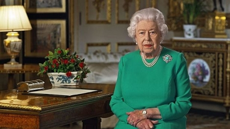 Queen Elizabeth calls for unity in rare broadcast on UK COVID-19 fight