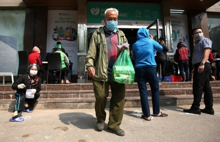 'Zero-VND supermarket' launched in Vietnam amid COVID-19 outbreak