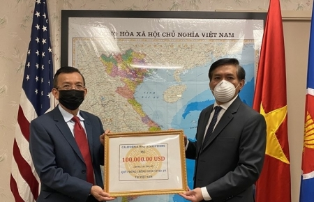 Vietnamese in US donate to homeland