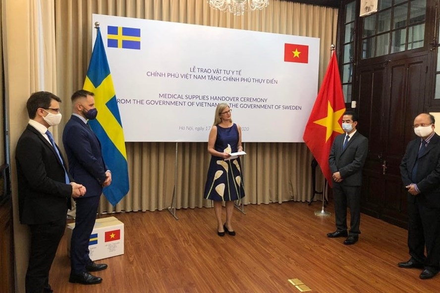 swedish ambassador to vietnam a friend in need is a friend indeed