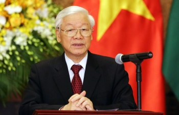 party general secretary and president congratulates vietnam journalists association on 70th anniversary