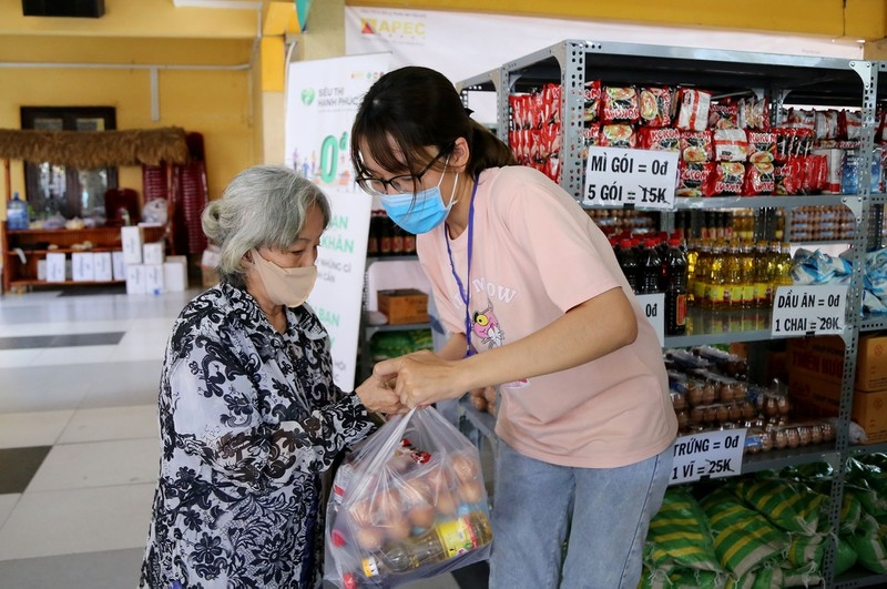 first zero vnd happy supermarket launched in ho chi minh city