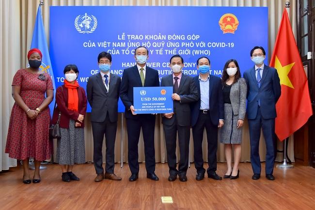 vietnam donates usd50000 to whos covid 19 response fund