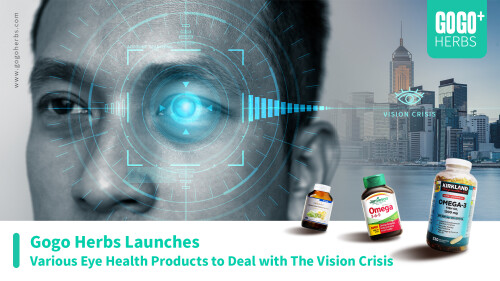 Gogo Herbs Launches Various Eye Health Products to Deal with The Vision Crisis