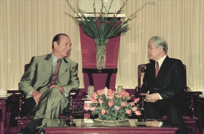 A look back at 48 years of Vietnam – France diplomatic relations through photos
