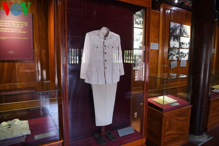 a look at president ho chi minhs house throughout his childhood