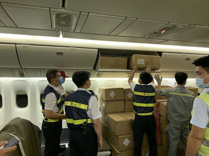 5 million made in vietnam personal protective equipment arrives in new york