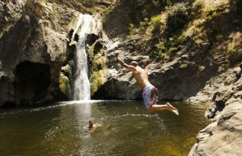 paradise falls in thousand oaks to close indefinitely due to crowds trash