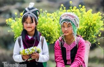 beautiful photos of upland children in vietnam