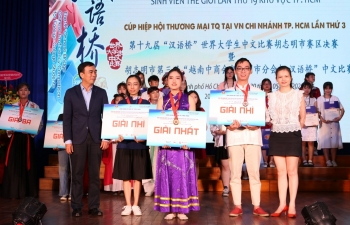 19th chinese bridge contest held in ho chi minh city