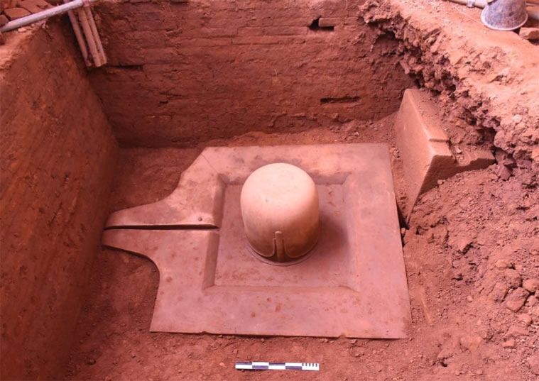 more proofs of vietnam india connection in newly unearthed 1100 yrs old shiva linga