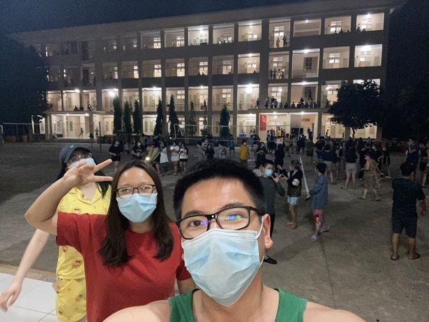 vietnamese student helps international arrivals while stuck in vietnam quarantine camp