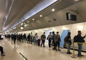 266 vietnamese return home from kuwait qatar egypt