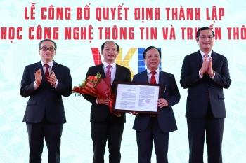 vietnam korea university of information and communication technology to be established