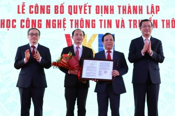 vietnam korea university of information and communication technology to be established