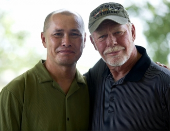 vietnamese police officer reunites his american soldier father after 48 years