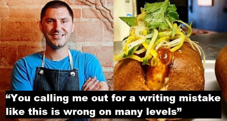 texas chef threatens to sue vietnamese american woman for correcting his spelling of banh mi