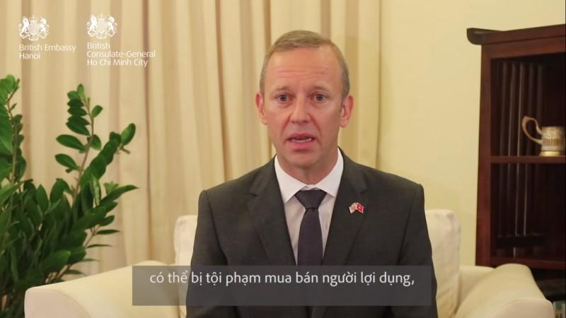 british ambassador to vietnam hopes families of 39 victims feel comfort