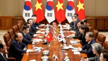 rok president moon request vietnams constructive role in korea peace process
