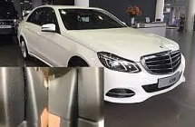 a new faulty mercedes benz e200 troubled the vietnamese customer
