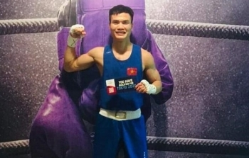 First Vietnamese boxer to qualify for the Olympics Tokyo