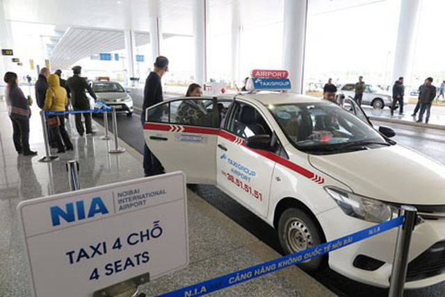 Suspension of all taxi services at Noi Bai International Airport