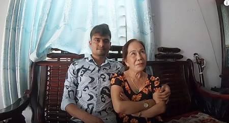 Surprised cross-border love story with 41 year gap of a Vietnamese and Pakistani couple