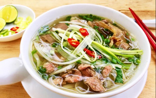 pho noodles has become the national dish of vietnam