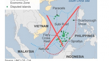 indonesia officially rejects chinas nine dash line in a letter to uns chief