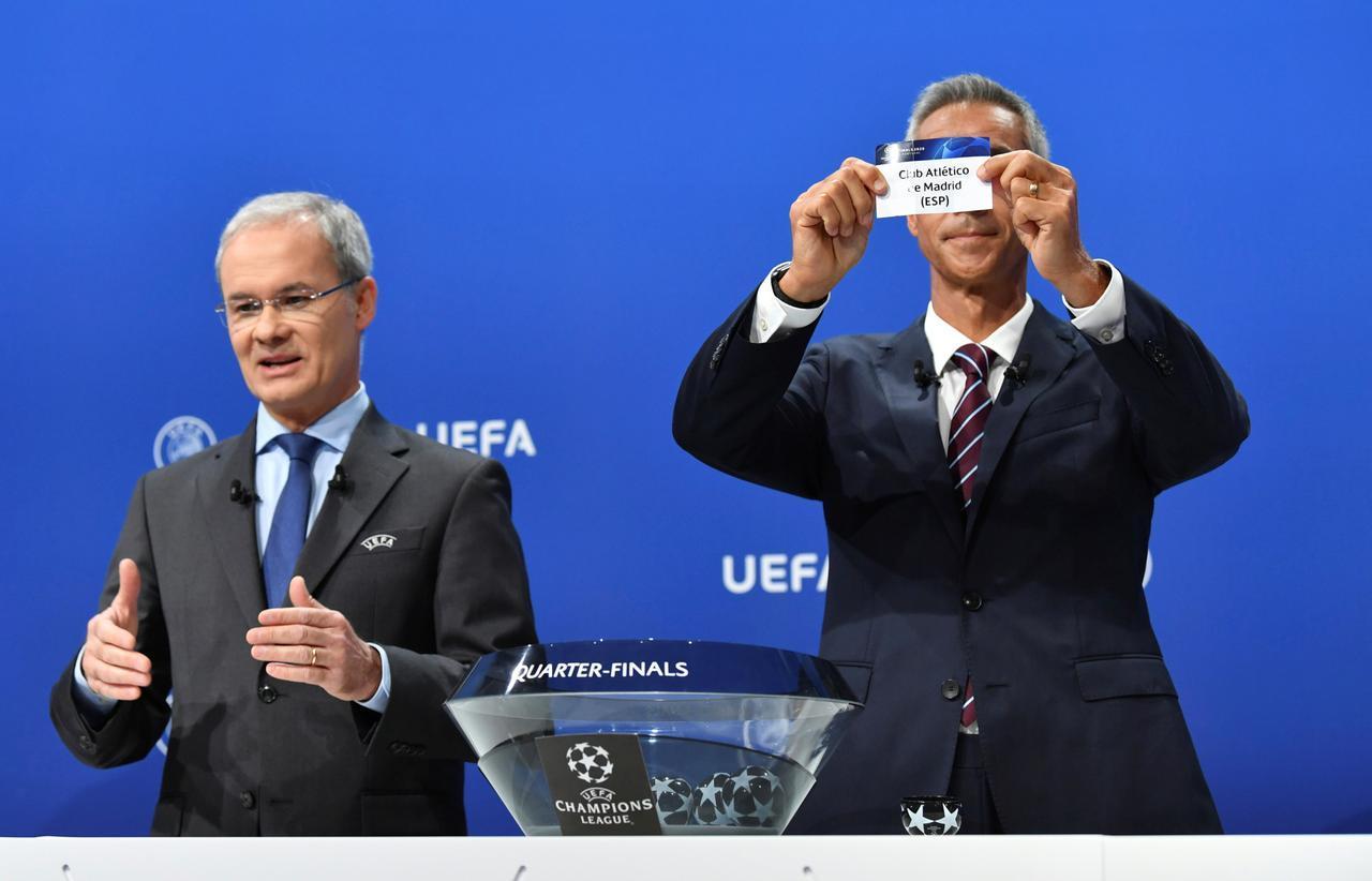 Latest News Champions League Quarter-Final, Semi-Final Draw