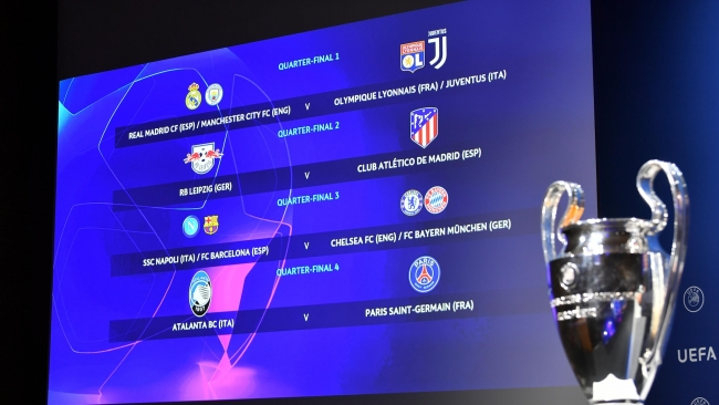 What time Champions League quarter-final and semi-final kick off?