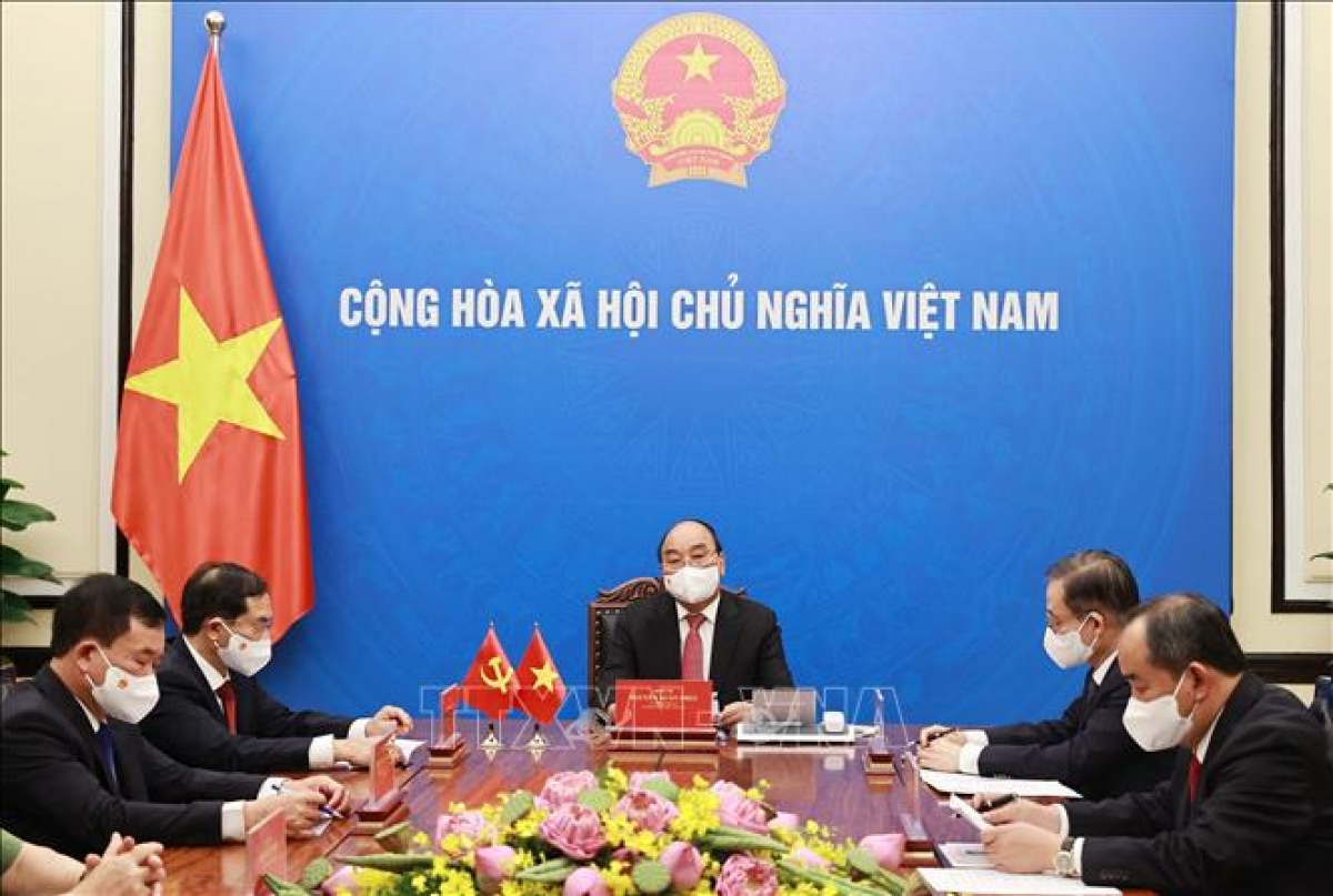 State President pushes for stronger Vietnam-China relations