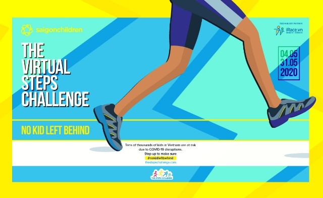 steps challenge 2020 virtual sport event to support children from covid 19 pandemic