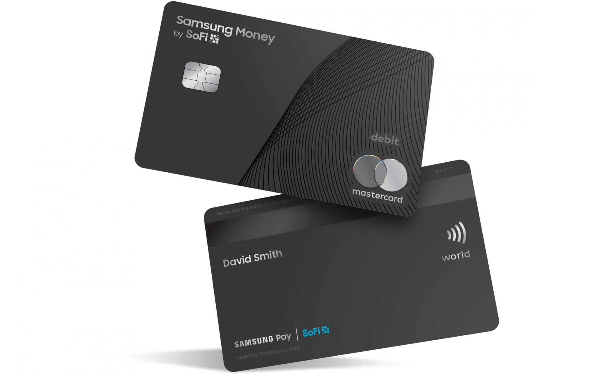 samsungs new debit card is mastercard branded links with samsung pay