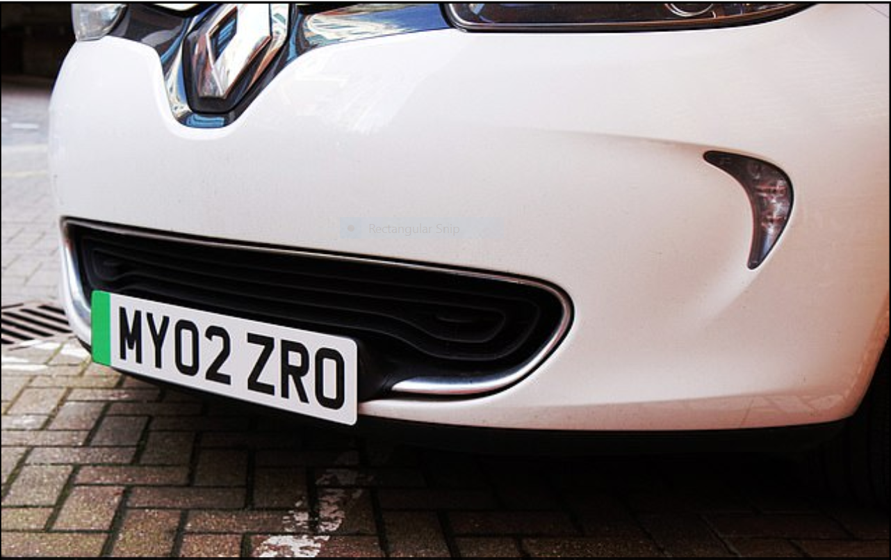Green plates for green cars: The UK pushes zero-emission transport