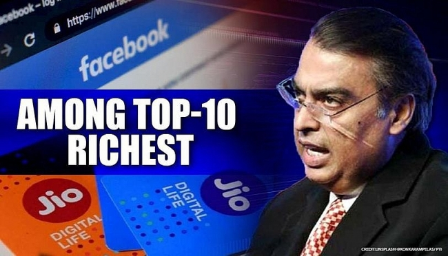 Asia's wealthiest man joins club of world's 10 richest, together with Bill Gates, Mark Zuckerberg