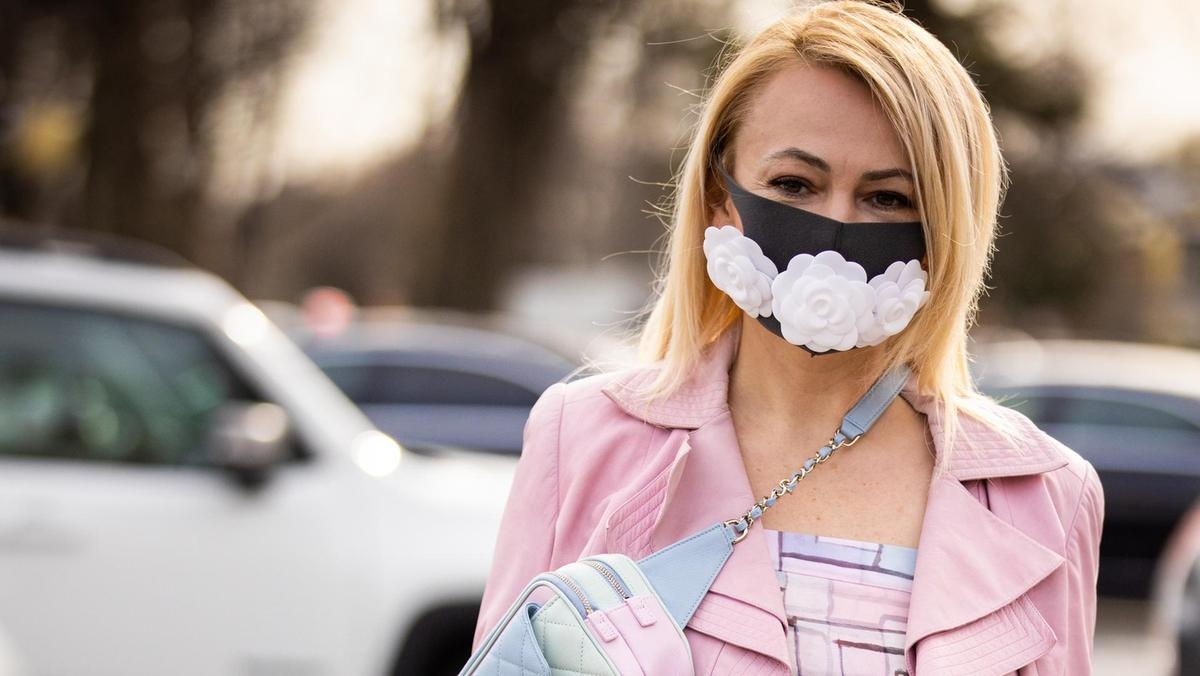 fashion masks new trend new style for the pandemic time