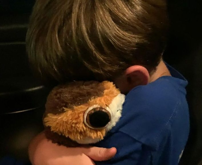social media helps reunite child with stuffed animal for two times