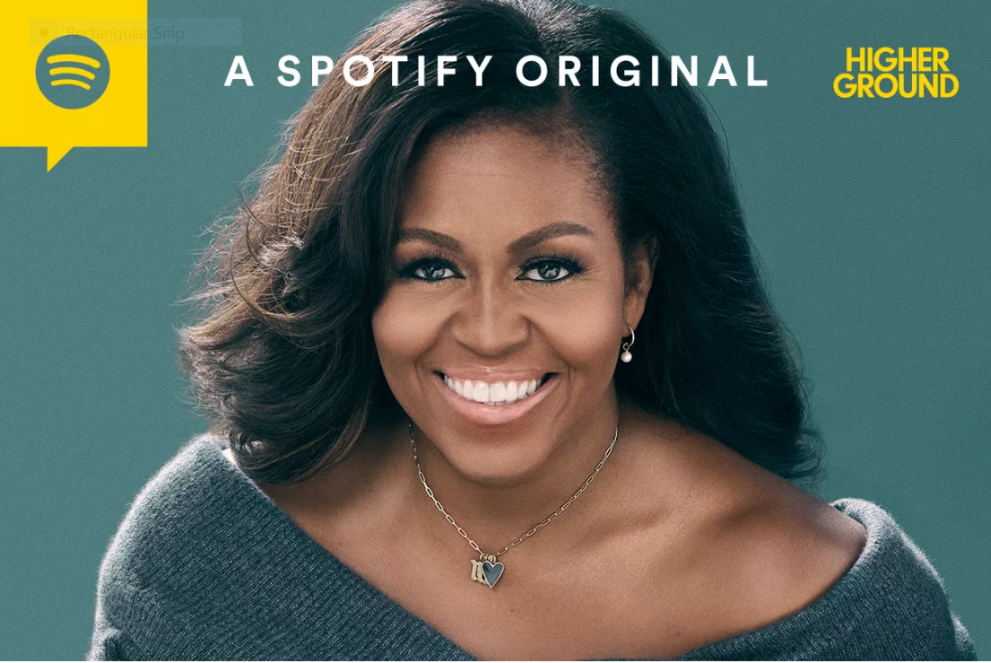 michelle obama to host podcast on health and relationships on spotify