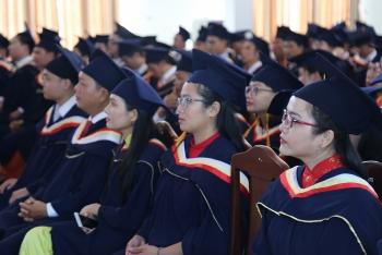 lao students awarded master degrees by vietnamese university