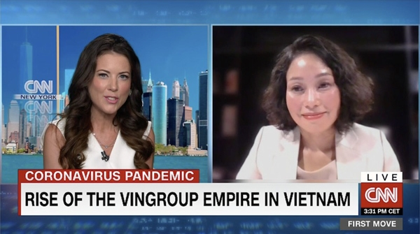 vingroup and 11 minutes on cnn live