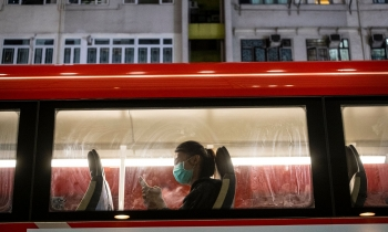 hongkong masks made mandatory government officials work from home as coronavirus cases surge