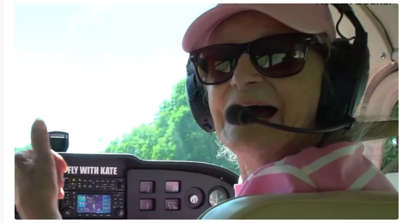 99 year old woman becomes worlds oldest pilot and flight instructor