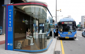virus proof public transit with smart shelters provided in asean cities thermal scanners amidst pandamic