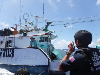 the us coast guard releases new plan to combat illegal fishing focusing on fishing boats from china