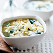 6 healthy chicken soup recipes