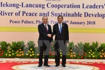 pm leaves hanoi for mekong lancang co operation summit