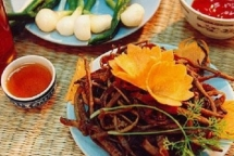 chao hau a fresh delicious taste from quang binh province