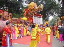 celebrations of vietnams new year at thang long imperial citadel